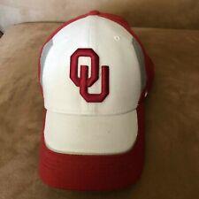 Oklahoma Sooners NCAA flex Swoosh Nike Hat Cap Unisex OU vintage