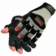 BLACK STALLION 98F Tool Handz Synthetic Leather Framerz Style Work Gloves, 2XL