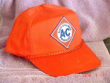 ADULT ALLIS CHALMERS ORANGE CAP, FULL BACK, AC LOGO, NEW