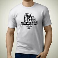 HA Kenworth T909 Truck Premium Truck Art Men T-Shirt