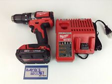 Milwaukee 2702-20 Brushless 1/2 Hammer Drill 48-11-1815 battery and charger kit