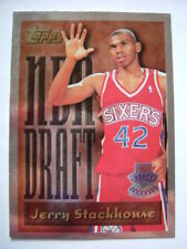 Topps Not Autographed Single-Insert Basketball Trading Cards