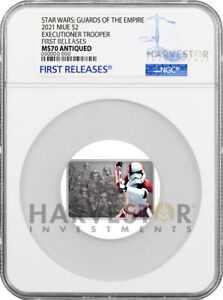 STAR WARS - GUARDS OF THE EMPIRE - EXECUTIONER TROOPER - NGC MS70 FIRST RELEASES