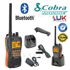 COBRA MR HH600 FLT VHF Bluetooth Floating Marine Radio for Boat Vessel Yacht