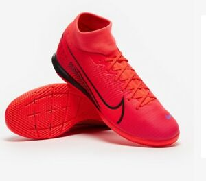 NIKE MERCURIAL SUPERFLY 7 ACADEMY IC INDOOR COURT UK 8