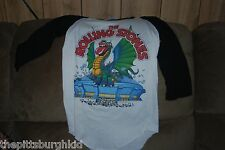 AWESOME VERY RARE VINTAGE 1981 ROLLING STONES CONCERT TOUR SHIRT TATOO YOU