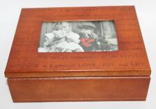 Mother's Day PHOTO JEWELRY BOX Never Used