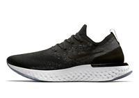 NIKE EPIC REACT FLYKNIT Running Trainers Gym Shoes - UK Size 7.5 (EUR 42) Black