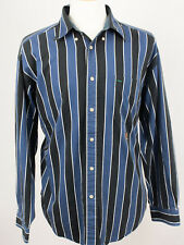 Tommy Hilfiger Mens Size Large 90s VTG Long Sleeve Button Front Shirt with Crest