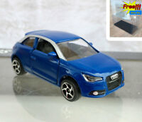 Majorette Audi A1 Blue Premium Diecast Car 1/58 237E no Box Free Display Box