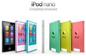 New! Apple iPod Nano 7th/8th Generation (16GB) All colors - Retail Box