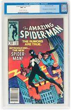 The Amazing Spider-Man #252 (May 1984, Marvel Comics) CGC 9.6 NM+ Black costume