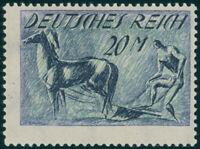 DR 1922, MiNr. 196 I, tadellos postfrisch, gepr. Tworek, Mi. 100,-