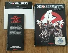 Ghostbusters: The Computer Game - 1984 Atari Computer Activision Floppy Disc