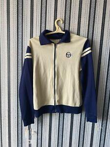 Sergio Tacchini Wool Track Jacket | Vintage 60s 70s Sportswear size 44 rare
