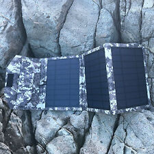 15W Watt Mono Solar Panel Power Charger 12V  Battery USB+clip  Charging Home