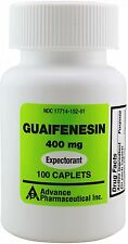 Mucus Relief Guaifenesin 400 mg Mucinex Chest Congestion 100 Tablets