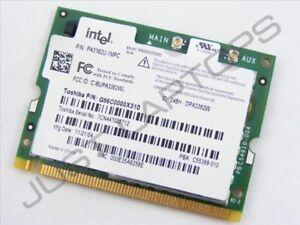 Intel C59686-004 PA3362U-1MPC G86C0000X310 802.11 B/G Wireless Mini PCI Card