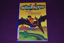 LA CABANE MAGIQUE 1 - Mary Pope Osborne - Bayard - La Vallée des Dinosaures