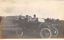 A20/ Automobile Real Photo RPPC Postcard c1914 Ohio Plate? Family 14