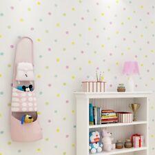 Colorful Polka Dots Pattern Wallpaper Self Adhesive Non-Woven Contact Paper