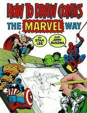 How to Draw Comics the Marvel Way by John Buscema and Stan Lee (1984, Paperback)