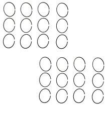 Mercedes r107 450 Piston Ring Set STD 92.00mm 1.75-2.5-4.0 (x8 sets) cylinder