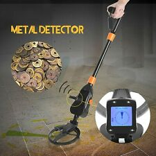 Metal Detector Lcd Treasure Hunter Gold Digger Sensitive Waterproof Search Coil
