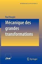 Mécanique des Grandes Transformations 25 by Paul Rougée (1997, Paperback)