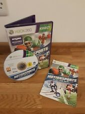 Motionsports: Play for Real Xbox 360 Kinect Spiel komplett mit Anleitung Kostenlos Post