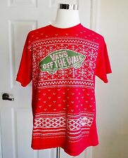 Rare Vans Christmas Shirt Men's XL Employee Only Ugly Sweater EUC Off The Wall
