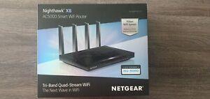 Netgear Nighthawk X8 AC5000 Tri-Band Smart WiFi Router R8300
