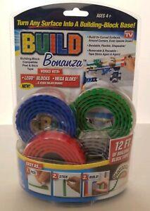 Build Bonanza As Seen on TV Flexible Building Block Base in Blue/Green/Red/Gray