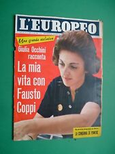 L'Européen 1960 Fausto Coppi Lee Remick Yves Montand Anna Kashfi Martine Carol