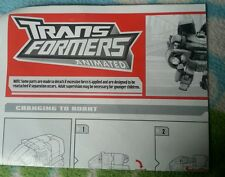 Transformers ANIMATED VOY. BULKHEAD INSTRUCTION BOOKLET
