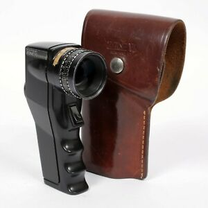 Pentax Digital Spotmeter modified by Zone VI with leather holster