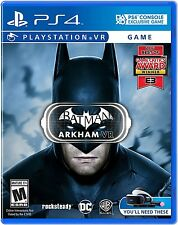 NEW Batman: Arkham VR (Sony PlayStation 4, 2016)