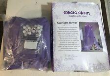 Magic Cabin Light-Up Tent Starlight Bower 866378 LED Lights Purple