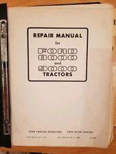 ORIGINAL FORD 8000 & 9000 TRACTOR REPAIR MANUAL