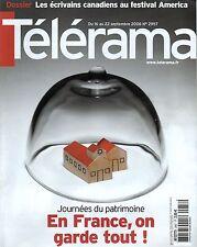 telerama n°2957 frederic taddei frank gehry jean claude brisseau 2006