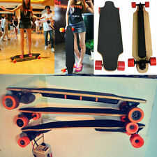4 Wheels Electric Skateboard Lightest Longboard Skate Board + Wireless Control