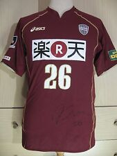 VISSEL KOBE MATSUOKA 08 J LEAGUE ASICS JAPAN SOCCER JERSEY FOOTBALL SHIRT L VTG