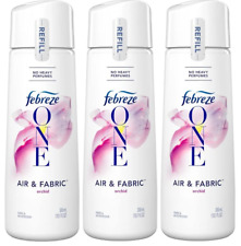 (Pack of 3) NEW Febreze® ONE Air & Fabric Freshener, Refill, 10.1 Oz, Orchid