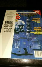 DOCTOR WHO MAGAZINE #185 1992 VINTAGE SCI FI RARE + POSTCARDS