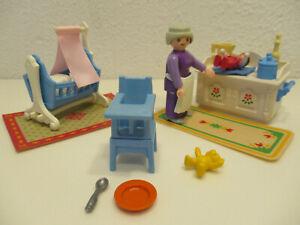 ( B3/17 ) 5313 Babyzimmer Puppenhaus 5300 5305 1900 Nostalgie rosa Serie
