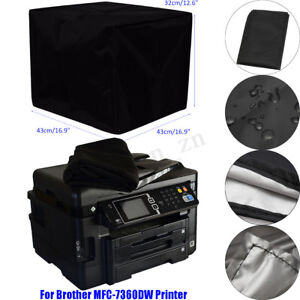43x43x32CM Dust Cover Polyester Fiber Blend for Brother MFC-7360DW Printer AU