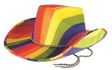 Sombreros, gorros y cascos color principal multicolor de fieltro para disfraces y ropa de época