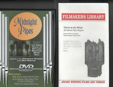 oop DVD VHS Midnight Pipes Great Organ of Methuen Hohman & Voices in the Wind
