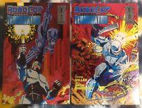 ROBOCOP vs TERMINATOR #1 & #2 (Frank Miller / Walter Simonson) Dark Horse Comics