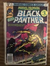 marvel premiere 51 black panther Key Solo Story Begins Nm-